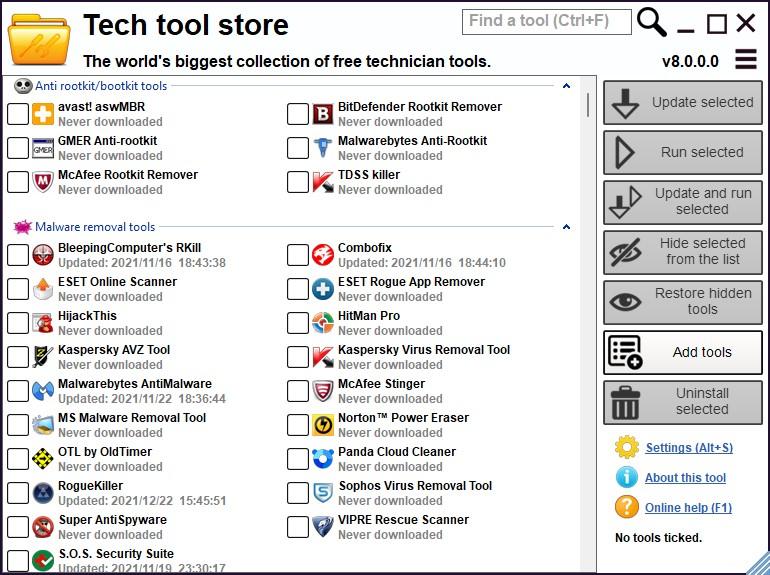Tech Tool Store screenshot