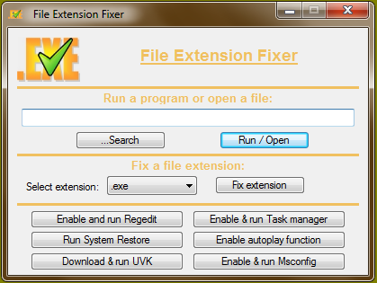 Resultado de imagen para File Extension Fixer